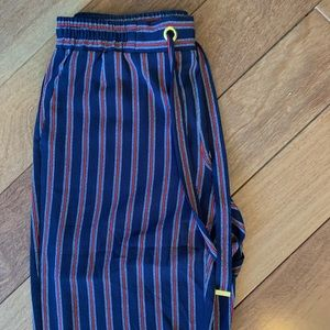 Red, White, and Blue Wide Leg Pants